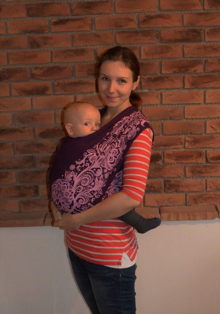 Šatka na nosenie bábätiek Babypeta